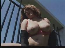 GranniesFucked - Check out this plump brunette granny as she gets hot and bothered and goes for a solo masturbation in the outdoors. She bares her big boobs and her sexy red undies and starts playing with her big tits and pussy and pounds it hard with a k